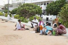 Imagen ilustrativa editorial Reunión de la familia en la India Fotografía de archivo