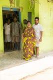 Imagen ilustrativa editorial Reunión de la familia en la India Fotografía de archivo libre de regalías