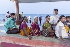 Imagen ilustrativa editorial Reunión de la familia en la India Fotos de archivo