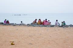 Imagen ilustrativa editorial Reunión de la familia en la India Imagen de archivo