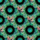 Imagen inconsútil de esferas giratorias Fotos de archivo libres de regalías