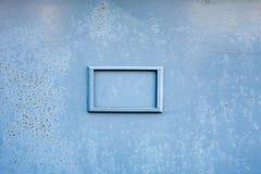 Imagen inconsútil del tablero oxidado gris pintado áspero del metal con a Imagenes de archivo