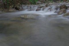 Imagen lenta del obturador del río Imagen de archivo libre de regalías