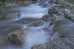 Imagen lenta del obturador del río Fotografía de archivo libre de regalías