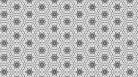 Imagen ligera de Grey Floral Ornament Wallpaper Pattern stock de ilustración
