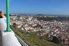 Imagen llamativa de Nazaré - Portugal Fotografía de archivo libre de regalías