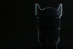 Imagen moderna profesional de la llave del ow del llense de la cámara de DSLR fotos de archivo libres de regalías