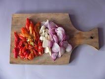 Imagen natural de las especias de la cocina foto de archivo libre de regalías