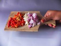 Imagen natural de las especias de la cocina foto de archivo