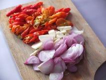 Imagen natural de las especias de la cocina imágenes de archivo libres de regalías