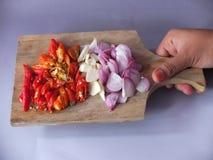 Imagen natural de las especias de la cocina fotos de archivo libres de regalías