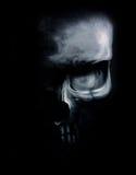 Imagen oscura del cráneo Imagenes de archivo