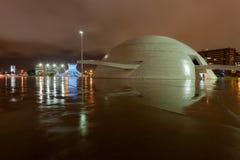 El complejo cultural con la catedral y congreso en Brasilia Fotografía de archivo libre de regalías