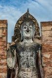 Imagen permanente de Buda en Sukhothai, Tailandia Foto de archivo libre de regalías
