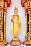 Imagen permanente de buddha en Tailandia Foto de archivo