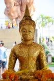 Imagen Phra Phuttha Sothon o Luang Pho Sothon de Buda en Wat Bot Temple Imagenes de archivo