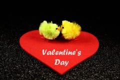 Imagen preciosa para el día de tarjetas del día de San Valentín Imagen de archivo