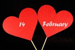 Imagen preciosa para el día de tarjetas del día de San Valentín Fotografía de archivo libre de regalías