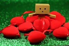 Imagen preciosa para el día de tarjetas del día de San Valentín Foto de archivo libre de regalías
