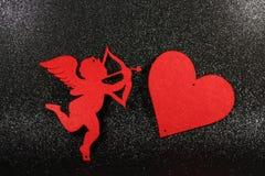 Imagen preciosa para el día de tarjetas del día de San Valentín Fotos de archivo