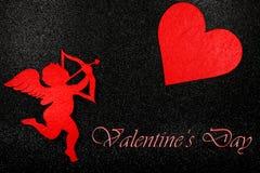 Imagen preciosa para el día de tarjetas del día de San Valentín Fotos de archivo libres de regalías