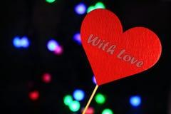 Imagen preciosa para el día de tarjetas del día de San Valentín Imágenes de archivo libres de regalías