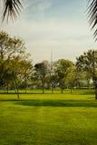 Imagen retra del parque del efecto Foto de archivo libre de regalías