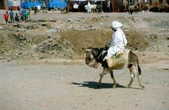 Imagen rural marroquí Fotografía de archivo