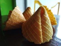 Imagen secada de la empanada y de la galleta del codo Foto de archivo