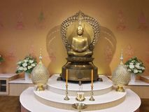 Imagen tailandesa de Buddha Fotografía de archivo