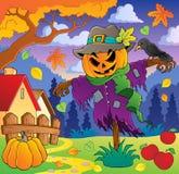 Imagen temática 2 del otoño stock de ilustración