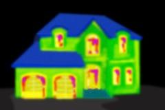 Imagen termal Fotografía de archivo libre de regalías