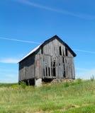 Imagen vertical del granero viejo en la región de los lagos finger de Estado de Nueva York Imagen de archivo libre de regalías