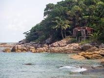 Imagens bonitas na ilha de Phangan foto de stock royalty free