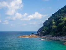 Imagens bonitas na ilha de Phangan fotos de stock royalty free