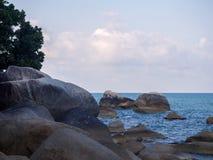 Imagens bonitas na ilha de Phangan imagens de stock