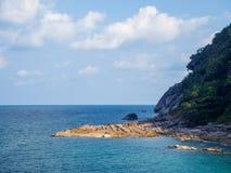 Imagens bonitas na ilha de Phangan fotografia de stock royalty free