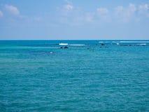 Imagens bonitas na ilha de Phangan imagem de stock