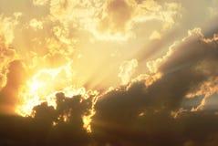 Imagens celestiais nas nuvens fotografia de stock royalty free