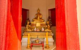 Imagens da Buda e templos budistas imagem de stock