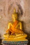 Imagens da Buda na postura de assento fotos de stock royalty free