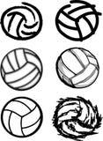 Imagens da esfera do voleibol Fotografia de Stock Royalty Free
