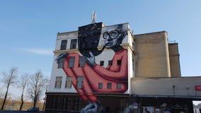 Imagens da parede de Kaunas fotografia de stock royalty free
