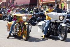 Imagens da reunião South Dakota dos sturgis Fotografia de Stock