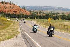 Imagens da reunião South Dakota dos sturgis imagens de stock
