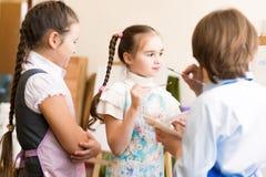 Imagens da tração das crianças das armações Fotografia de Stock Royalty Free