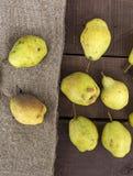 Imagens das imagens da pera do inverno, as naturais e as orgânicas do inverno da pera Foto de Stock Royalty Free