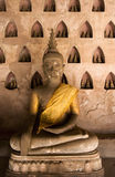 Imagens de Buddha em Wat Sisaket. Imagem de Stock Royalty Free