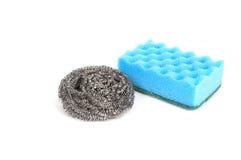 Imagens de esponjas da cozinha. Imagem de Stock