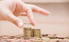 Imagens de moedas asiáticas Imagem de Stock Royalty Free